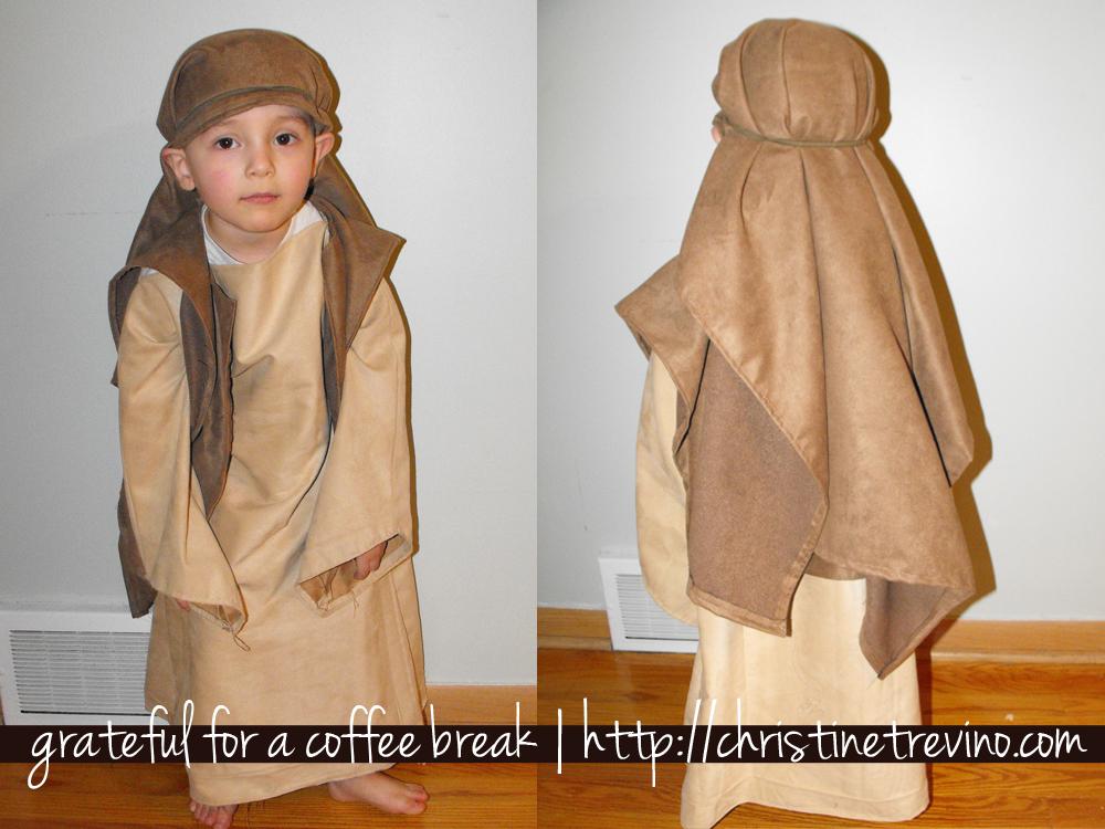 Quick and easy joseph costume christine trevino solutioingenieria Gallery