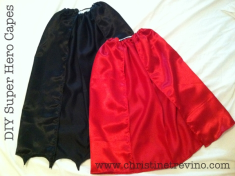 Diy super hero capes child adult christine trevino as a result here is my new take on the super hero cape my favorite feature of this cape is that once it is completed there is no need to fasten and pronofoot35fo Image collections