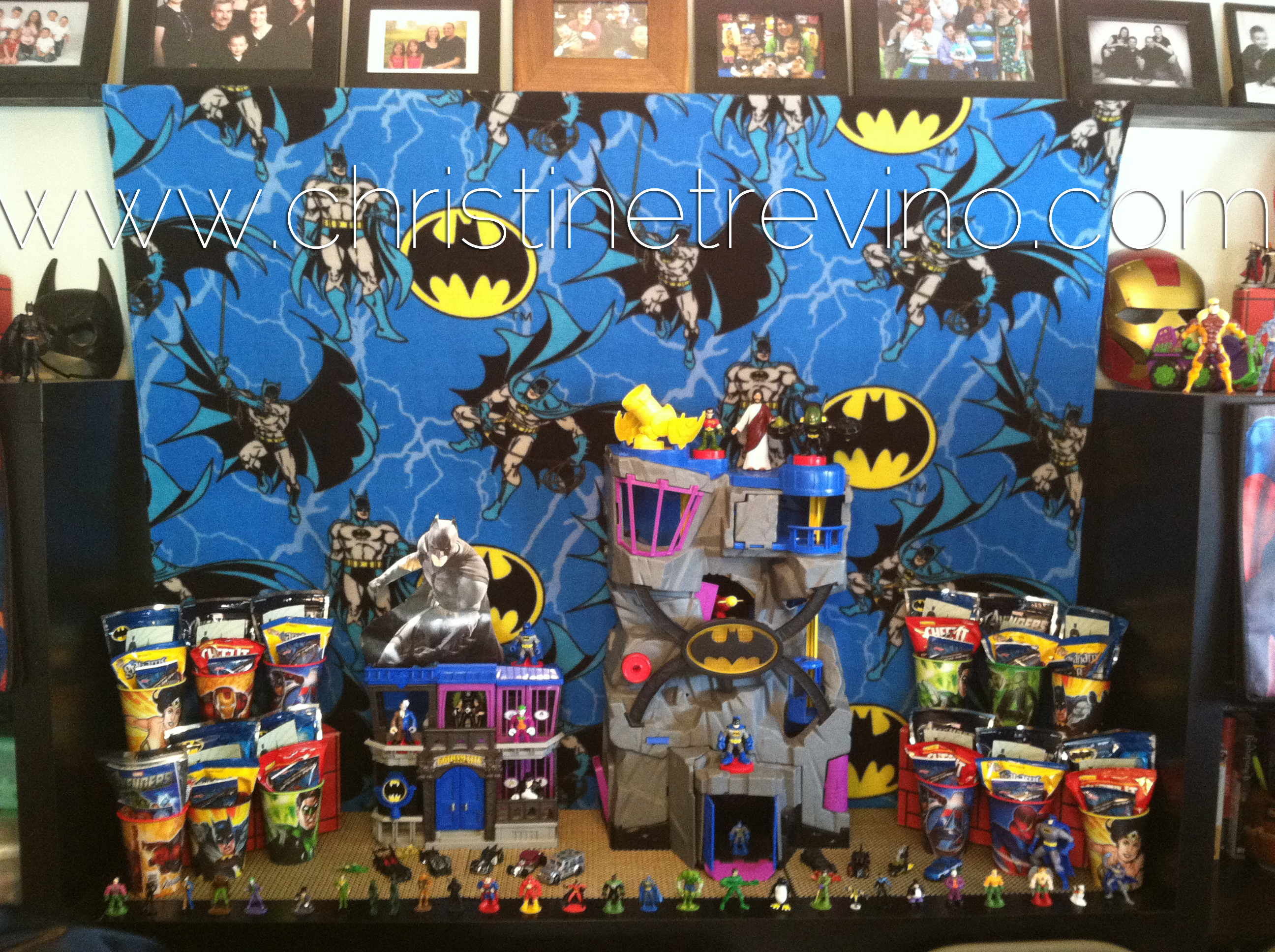 Decorating For A Superhero Party Christine Trevino