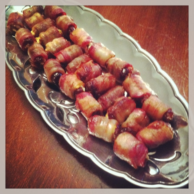 Shauna's Bacon-Wrapped Dates